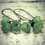 Baby bell flower Earrings. ..